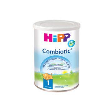 Молочная смесь HippМолочная смесь Hipp Combiotic 1 Комбиотик с 1 недели 800 г, возраст 1 ступень (0-3 мес). Проконсультируйтесь со специалистом. Для детей с 1 нед.<br><br>Возраст: 1 ступень (0-3 мес)