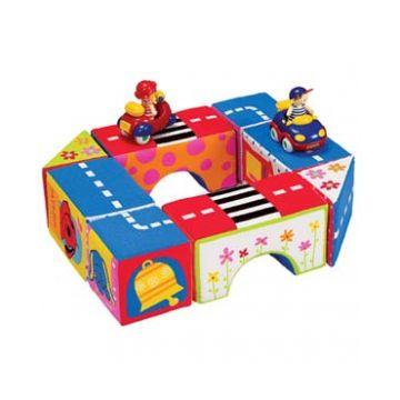 Игрушка K`s KidsИгрушка K`s Kids Кубики для строительства КА413, возраст от 9 месяцев<br><br>Возраст: от 9 месяцев