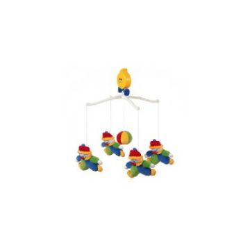 Крутящиеся музыкальные игрушки K`s KidsКрутящиеся музыкальные игрушки K`s Kids Клоун KA151B<br>