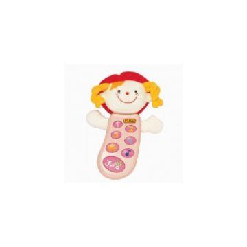 Игрушка музыкальная K`s KidsИгрушка музыкальная K`s Kids телефон с записью Джулия KA301PB, возраст от 6 месяцев<br><br>Возраст: от 6 месяцев