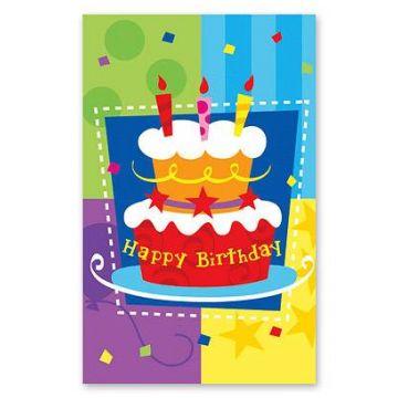 Скатерть Весёлая затеяСкатерть Весёлая затея  Торт Birthday<br>