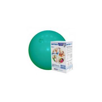 Фитбол Альпина ПластФитбол Альпина Пласт мяч зеленый 450мм<br>