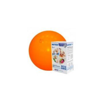 Фитбол Альпина ПластФитбол Альпина Пласт мяч оранжевый 450мм<br>