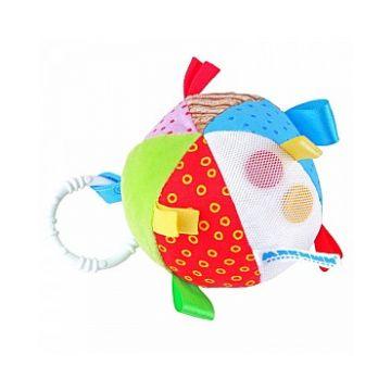 Игрушка МякишиИгрушка Мякиши Мячик с петельками 10 см 263, возраст от 6 месяцев<br><br>Возраст: от 6 месяцев