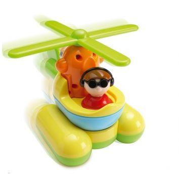 Игрушка TomyИгрушка Tomy Вертолет Puzzle-Ups 2037T, возраст от 18 мес<br><br>Возраст: от 18 мес