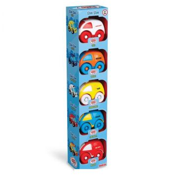 Игрушка DoluИгрушка Dolu Мини - машинка в коробке - 5 шт. 5042, возраст от 1 года<br><br>Возраст: от 1 года