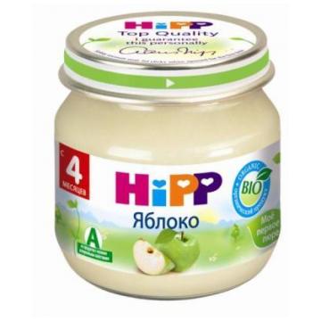Детское пюре Детское питание HippДетское пюре Hipp яблоко с 4 мес. 80 г, возраст 2 ступень (3-6 мес). Проконсультируйтесь со специалистом. Для детей с 4 мес.<br><br>Возраст: 2 ступень (3-6 мес)