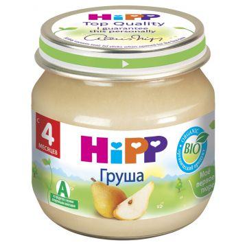 Детское пюре Детское питание HippДетское пюре Hipp груша с 4 мес. 80 г, возраст 2 ступень (3-6 мес). Проконсультируйтесь со специалистом. Для детей с 4 мес.<br><br>Возраст: 2 ступень (3-6 мес)