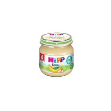 Детское пюре HippДетское пюре Hipp банан с 6 мес. 80 г, возраст 3 ступень (6-12 мес). Проконсультируйтесь со специалистом. Для детей с 6 мес.<br><br>Возраст: 3 ступень (6-12 мес)