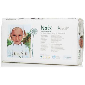 Подгузник NatyПодгузник Naty размер 4 (7-18 кг) 46 шт, в упаковке 46 шт., размер L<br><br>Штук в упаковке: 46<br>Размер: L