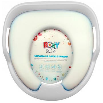Адаптер для унитаза детский Roxy-KidsАдаптер для унитаза детский Roxy-Kids (с ручками вверх)<br>