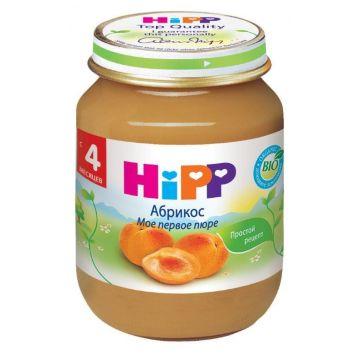 Десткое пюре Детское питание HippДесткое пюре Hipp абрикос. с 4 мес. 125 г, возраст 2 ступень (3-6 мес). Проконсультируйтесь со специалистом. Для детей с 4 мес.<br><br>Возраст: 2 ступень (3-6 мес)