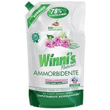 Кондиционер для белья WinnisКондиционер для белья Winnis с ароматом цветов гелиотропа и белого мускуса 1470 мл<br>
