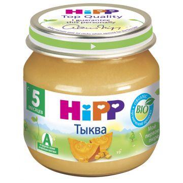 Десткое пюре Детское питание HippДесткое пюре Hipp тыква. с 5 мес. 80 г, возраст 2 ступень (3-6 мес). Проконсультируйтесь со специалистом. Для детей с 5 мес.<br><br>Возраст: 2 ступень (3-6 мес)