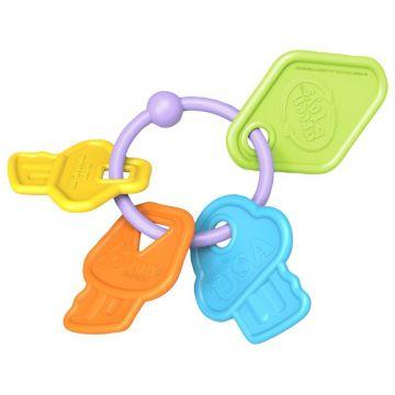 Прорезыватель-Погремушка Green ToysПрорезыватель-Погремушка Green Toys Ключики , возраст от 0 месяцев<br><br>Возраст: от 0 месяцев