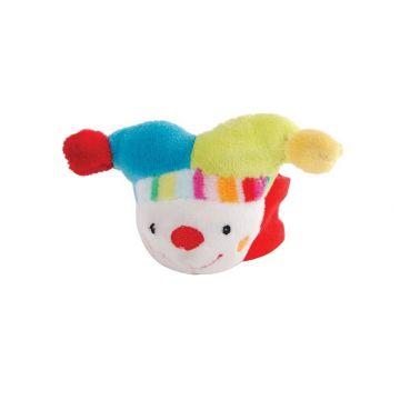 Мягкая игрушка на запястье GulliverМягкая игрушка на запястье Gulliver Клоун 152746, возраст от 0 месяцев<br><br>Возраст: от 0 месяцев