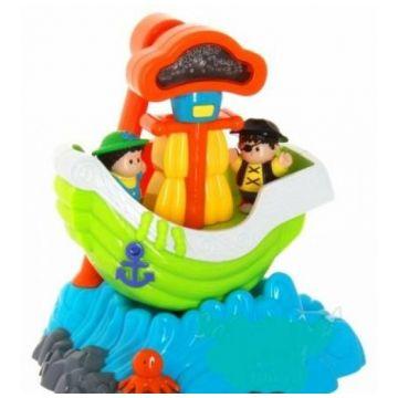 Игрушка Happy KidИгрушка Happy Kid Качающийся кораблик 3885Т, возраст от 1,5 лет<br><br>Возраст: от 1,5 лет