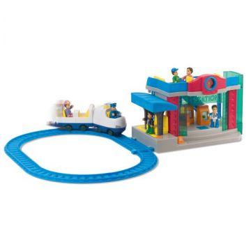Игрушка Happy KidИгрушка Happy Kid Железнодорожная станция 3966Т, возраст от 3 лет<br><br>Возраст: от 3 лет