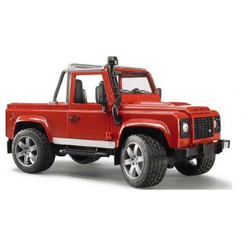 Игрушка BruderИгрушка Bruder Внедорожник-пикап Land Rover Defender 02-591, возраст с 3 лет<br><br>Возраст: с 3 лет