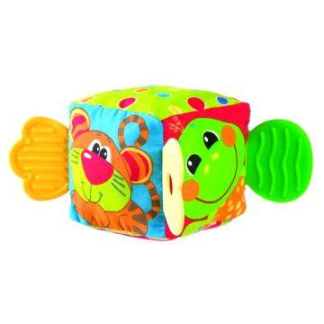 Мягкая игрушка PlayGroМягкая игрушка PlayGro Кубик 0180170, возраст от 0 месяцев<br><br>Возраст: от 0 месяцев