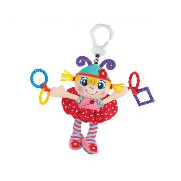 Игрушка-подвеска PlayGroИгрушка-подвеска PlayGro Девочка- божья коровка 0183685, возраст от 0 месяцев<br><br>Возраст: от 0 месяцев