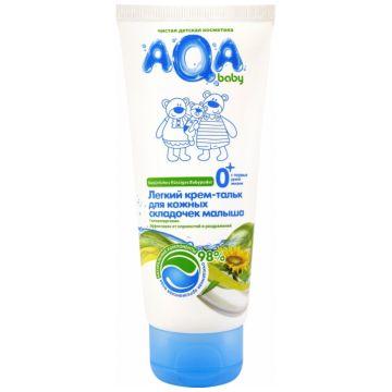 Крем-тальк лёгкий Aqa BabyКрем-тальк лёгкий Aqa Baby для кожных складочек малыша 100 мл<br>