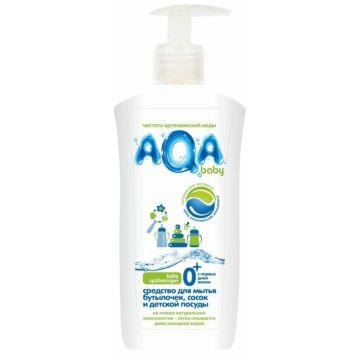 Средство для мытья бутылочек, сосок и детской посуды Aqa BabyСредство для мытья бутылочек, сосок и детской посуды  Aqa Baby 500 мл<br>