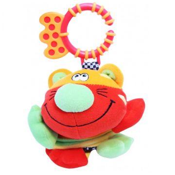 Игрушка развивающая Roxy-KidsИгрушка развивающая Roxy-Kids Тигренок Гигл с забавным смехом RBT20015, возраст от 0 месяцев<br><br>Возраст: от 0 месяцев