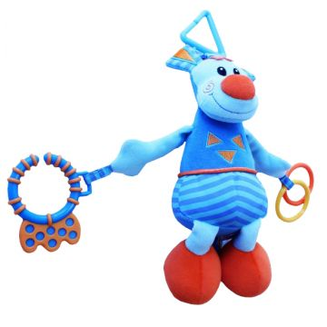 Игрушка развивающая Roxy-KidsИгрушка развивающая Roxy-Kids Ослик Бурро со звуком RBT9908, возраст от 0 месяцев<br><br>Возраст: от 0 месяцев