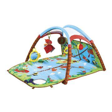 Детский развивающий коврик Tiny LoveДетский развивающий коврик Tiny Love моя первая игровая площадка 466, возраст от 0 месяцев<br><br>Возраст: от 0 месяцев