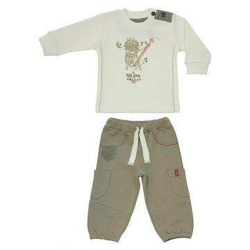 Набор из 2 предметов брюки и толстовка BebepanНабор из 2 предметов брюки и толстовка Bebepan серия Rock Star 12-18 мес. арт. 7575_12-18, возраст 12-18 мес.<br><br>Возраст: 12-18 мес.