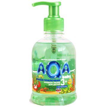 Жидкое мыло для детей Aqa BabyЖидкое мыло для детей Aqa Baby Морские приключения 300 мл<br>