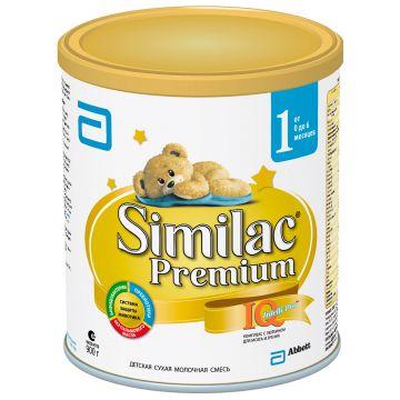 Молочная смесь SimilacМолочная смесь Similac 1 Premium 0-6 мес. 900 г, возраст 1 ступень (0-3 мес). Проконсультируйтесь со специалистом. Для детей 0-6 мес.<br><br>Возраст: 1 ступень (0-3 мес)