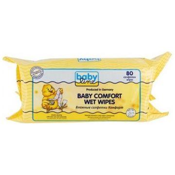 Влажные салфетки для детей Babyline Комфорт 80 шт