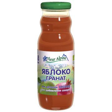 Сок Fleur Alpine Органик яблоко-гранат с 8 мес. 200 мл