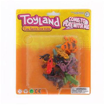 Игровой набор ToyLandИгровой набор ToyLand лягушки 12 предметов BC950812A13, возраст от 3 лет<br><br>Возраст: от 3 лет