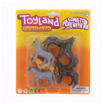 Игровой набор ToyLandИгровой набор ToyLand домашние животные 6 предметов BC96110613, возраст от 3 лет<br><br>Возраст: от 3 лет