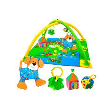 Детский развивающий коврик МякишиДетский развивающий коврик Мякиши с дугамиЛужайка(с собачкой) 191<br>