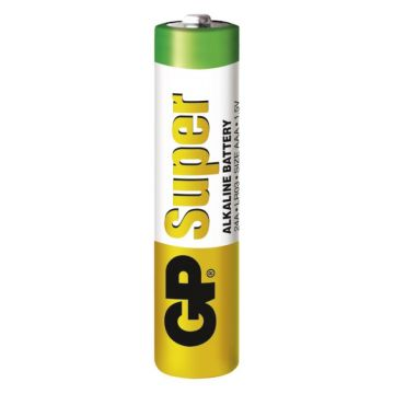 Батарейка GPБатарейка GP AAA-LR03 1 шт. (24ARS-2SB4)<br>