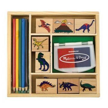Набор для творчества Melissa and DougНабор для творчества Melissa and Doug Печати Динозавры 1633M, возраст от 4 лет<br><br>Возраст: от 4 лет