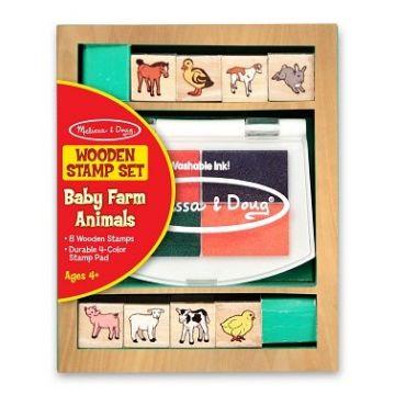 Игровой набор Melissa and DougИгровой набор Melissa and Doug Творчество печати Животные на ферме 1639M, возраст от 4 лет<br><br>Возраст: от 4 лет
