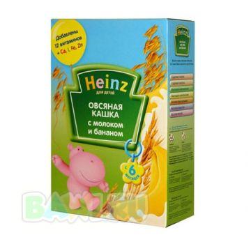 Каша HeinzКаша Heinz овсяная с бананом и молоком с 6 мес. 250 г, объем, 200л., возраст 3 ступень (6-12 мес). Проконсультируйтесь со специалистом. Для детей с 6 мес.<br><br>Объем, л.: 200<br>Возраст: 3 ступень (6-12 мес)