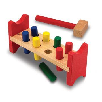 Классические игрушки Melissa and DougКлассические игрушки Melissa and Doug Забить в лунки 496, возраст от 2 лет<br><br>Возраст: от 2 лет