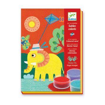 Набор цветного песка DjecoНабор цветного песка Djeco На природе 08660, возраст от 5 лет<br><br>Возраст: от 5 лет
