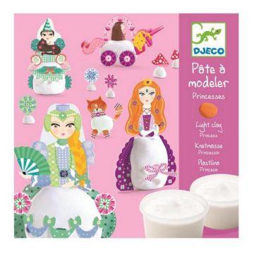 Набор для творчества DjecoНабор для творчества Djeco с пластилином Принцессы 09733, возраст от 3 лет<br><br>Возраст: от 3 лет