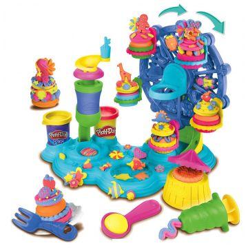 Игровой набор Play-dohИгровой набор Play-doh Карнавал сладостей B1855, возраст от 3 лет<br><br>Возраст: от 3 лет