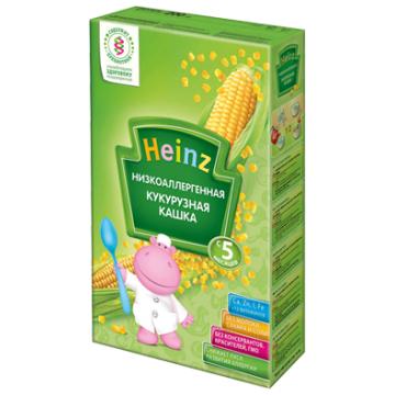Каша HeinzКаша Heinz кукурузная низкоаллергенная 1 ступень 200 г, объем, 200л., возраст 2 ступень (3-6 мес). Проконсультируйтесь со специалистом. Для детей с 0 месяцев<br><br>Объем, л.: 200<br>Возраст: 2 ступень (3-6 мес)