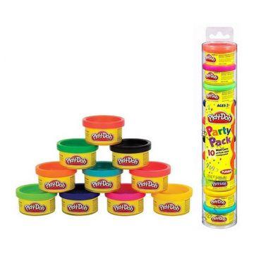 Пластилин Play-dohПластилин Play-doh 10 банок цветной в тубе 22037477/22037148, возраст от 3 лет<br><br>Возраст: от 3 лет
