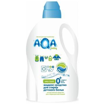Жидкое средство для стирки детского белья Aqa BabyЖидкое средство для стирки детского белья Aqa Baby 1500 мл<br>