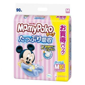 Подгузники MamyPokoДетские подгузники MamyPoko, размер M (6-11 кг) 64 шт, в упаковке 64 шт., размер M<br><br>Штук в упаковке: 64<br>Размер: M